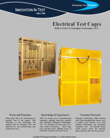 Electrical Test Cages