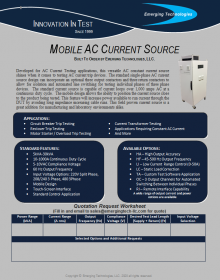 AC Current Source BTO